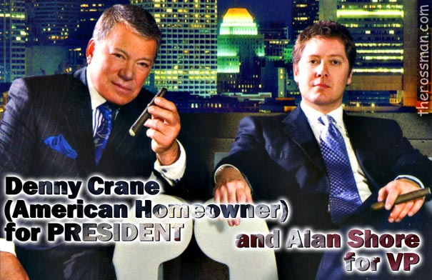 Denny Crane For PRESIDENT And Alan Shore For VP Gorgeous Denny Crane Quotes